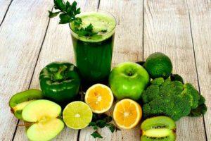 jugo verde para desintoxicar